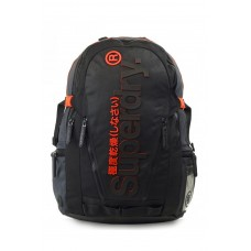 Superdry 2 Toned Tarp Backpack Black