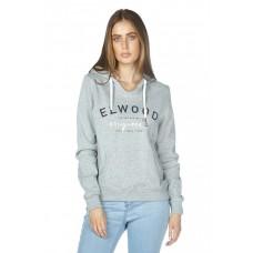 Elwood Columbus Womens Pullover Hoodie Grey