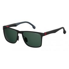 Carrera 8026/S Matt Black/Green Lenses