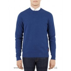 Ben Sherman Knit in Marine Marl