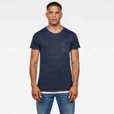 G-Star Muon Pocket Tee Mazarine Blue