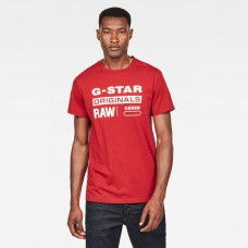 G-Star Graphic 8 Tee Dk Baron
