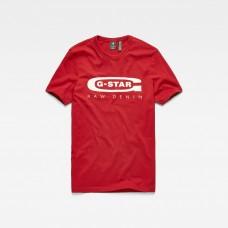 G-Star Graphic 4 Slim Tee Dk Baron