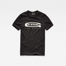 G-Star Graphic 4 Slim Tee Dk Black