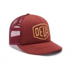 Deus Ex Machina Jersey Shield Trucker Henna