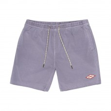 Deus Ex Machina Sandbar Garment Dye Board Short Silver Grey