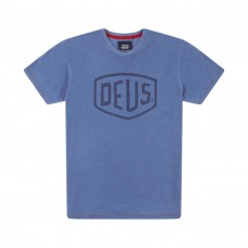Deus Ex Machina Shield Tee Indigo