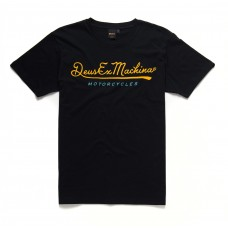 Deus Ex Machina Second Base Tee Black