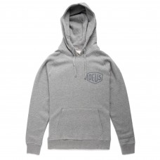 Deus Ex Machina Milano Address Hoodie Grey