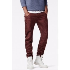 G-Star Arc 3D Slim Merlot/Burned Red Jean