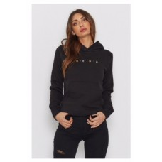 Nena Pasadena Golden Era Hooded Sweater Black Wmn