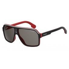 Carrera 1001/S Black/ Red Polarised Lenses