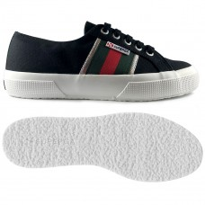 Superga 2750 Cotuflagside Black/Green/Red
