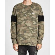 Nena and Pasadena Bar One Crew Neck Jumper Camo