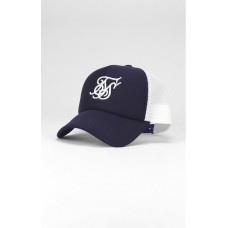 Sik Silk Foam Trucker Cap Navy