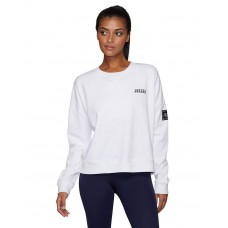 Jaggad Offside Drop Shoulder Sweater White