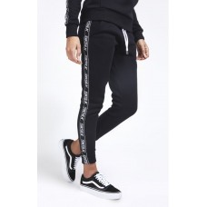 Sik Silk Original Tape Joggers Black