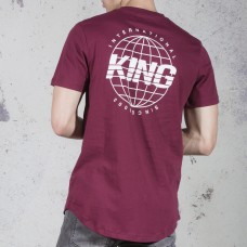 King Apparel Bethnal T-Shirt Oxblood