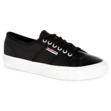 Superga 2750 Efglu Black Leather
