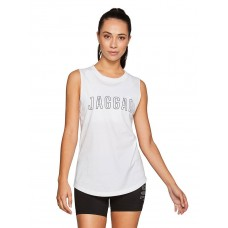 Jaggad Core Muscle Tank White