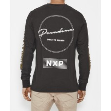 Nena and Pasadena Dead To Rights Long Sleeve T-Shirt Pigment Black