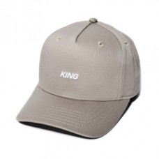 King Apparel Defy Curved Peak Stone