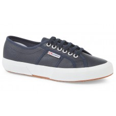 Superga 2750 Efglu Navy Leather