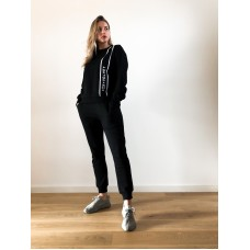 Fox + Velvet Cosy Sweater Washed Black