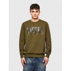 Diesel S-Gir Division Logo Sweater Military Green