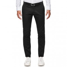 Politix Helston Slim Tapered Chino Black