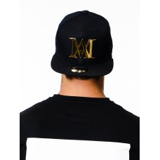 Manasse Metal Gold Logo Hat