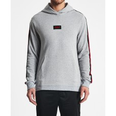 Nena and Pasadena Delivery Hooded Sweater Grey Marle