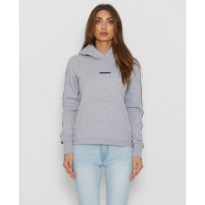 Nena Pasadena Game Changer Hooded Sweater Grey Marl Wmn