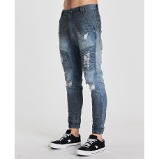 Nena Pasadena Destroyer Pant Petrol Blue