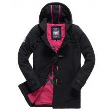 Superdry Rookie Duffle Coat WMS Black