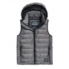 Superdry Core Gilet Grey