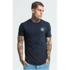 Sik Silk Gym Tee Navy