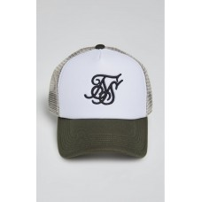 Sik Silk Foam Trucker Khaki