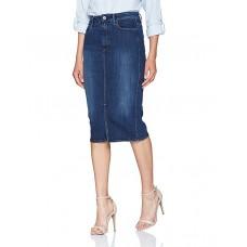 G-Star 3301 Slim Skirt Dk aged denim