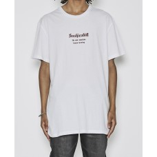 Sushi Radio War Relaxed Fit T-Shirt White