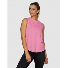 Jaggad Side Step Muscle Tank Bubblegum