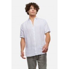 Industrie Tennyson Linen S/S Shirt White