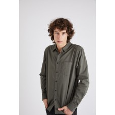 Neuw Waits Twill Shirt Army