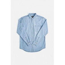 Neuw Waits Denim Shirt Washed Indigo